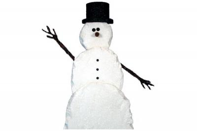 Chisel - Foam Snowman (4', 5', or 6' tall