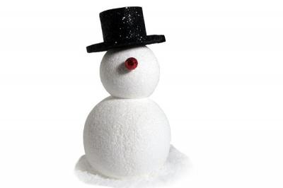 Cris - Foam Snowman (4', 5', or 6' tall)
