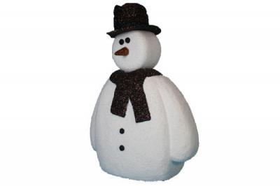 Kerry - Foam Snowman (4', 5', or 6' tall)