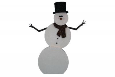 Phil - Foam Snowman (4', 5', or 6' tall)