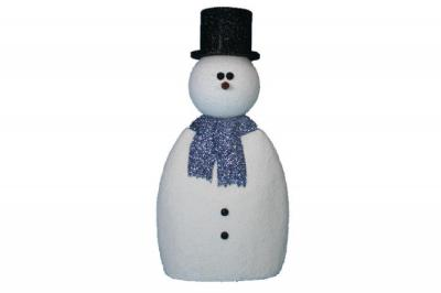 Tim - Foam Snowman (4', 5', or 6' tall)