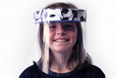 School Face Shields for Elementary School Students